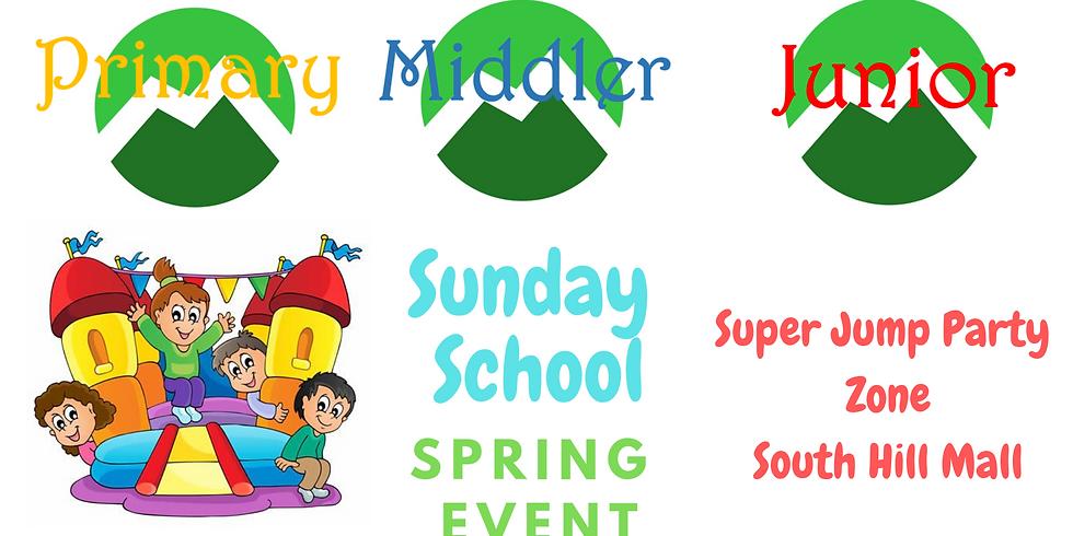 Sunday School Spring Event