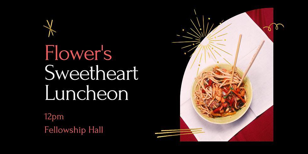 Flowers Sweetheart Luncheon