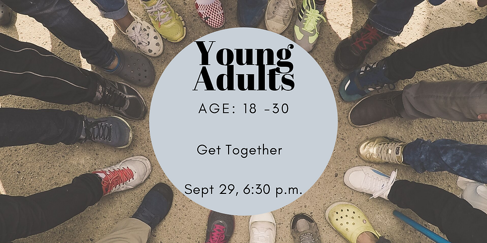 Young adults get together.