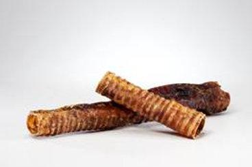 """Beef Trachea 6"""" (Moo Tubes) Bundle of 10"""