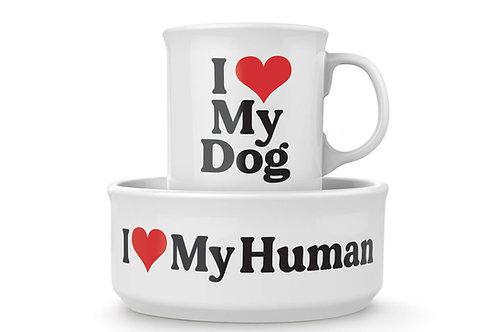 Howligans Mug and Dog Bowl