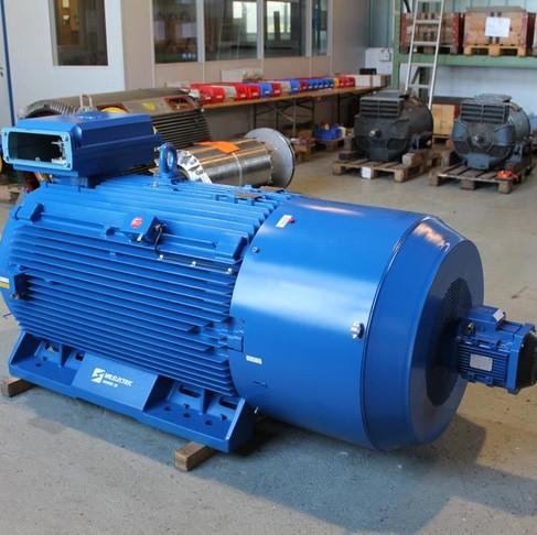 Révision d'un moteur à bagues 710kW