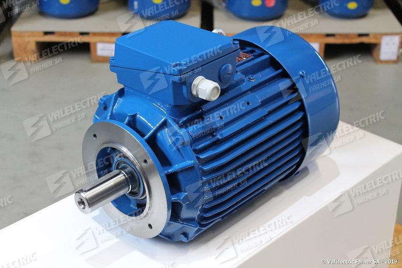 Moteur deux vitesses Dahlander - 3.2/5.4kW - Type 132 - 8/4p - B14-2