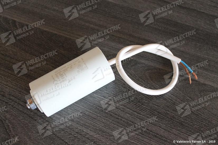 Condensateur de travail 20uf - 400V - 1551009