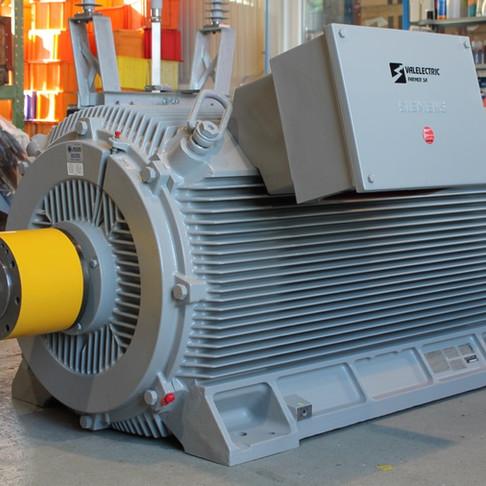 Révision d'un moteur 1020kW de télécabine