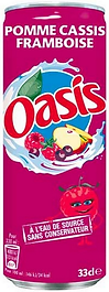 SOFT Canette Oasis (Pomme Cassis Framboi