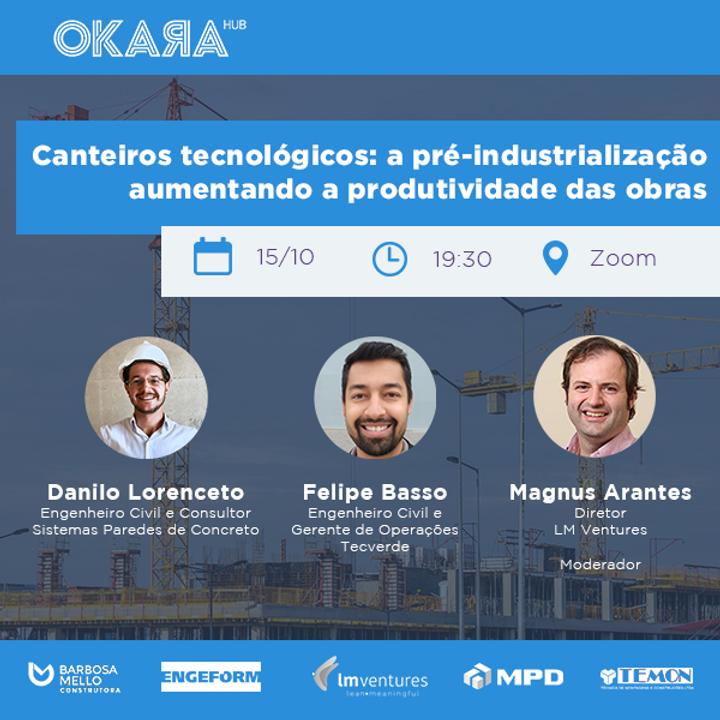 Canteiros Tecnológicos: a pré-industrialização aumentando a produtividade das obras