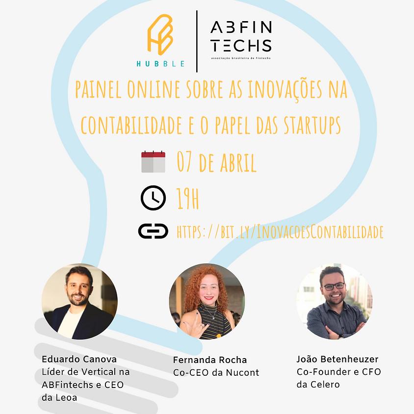 Painel on-line sobre as inovações na contabilidade e o papel das startups