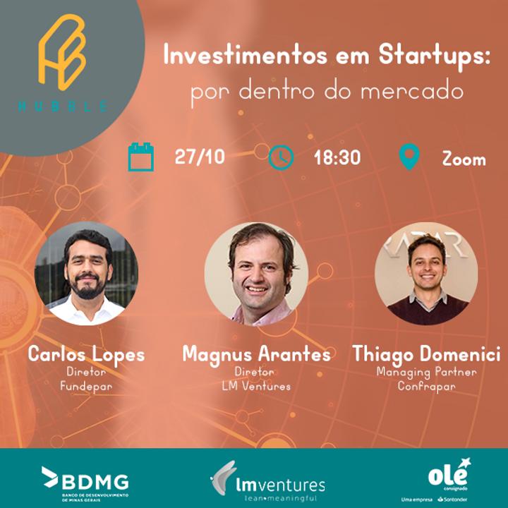 Investimentos em startups: por dentro do mercado
