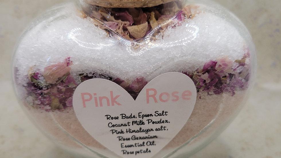 Pink Rose Bath Soak - 14oz
