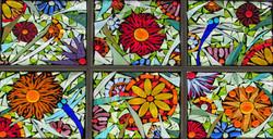 garden mosaic window