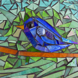 bluebird mosiac