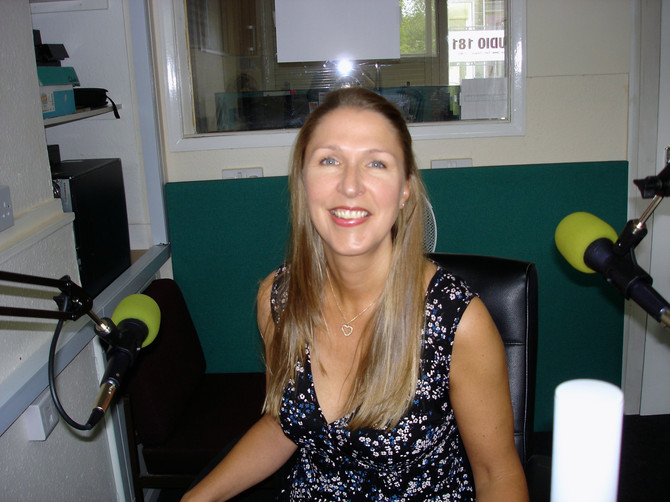 Interview with Miss P on Riviera FM
