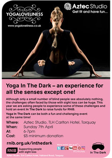 Yoga in the Dark - Sunday 7th April 2019