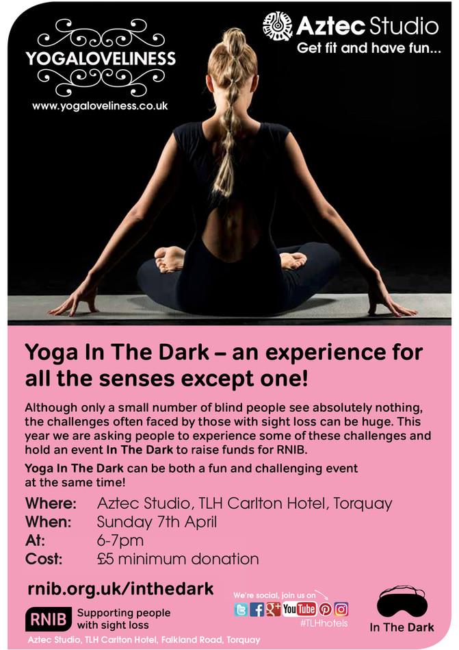Yoga in the Dark - Sunday 7th April 2019