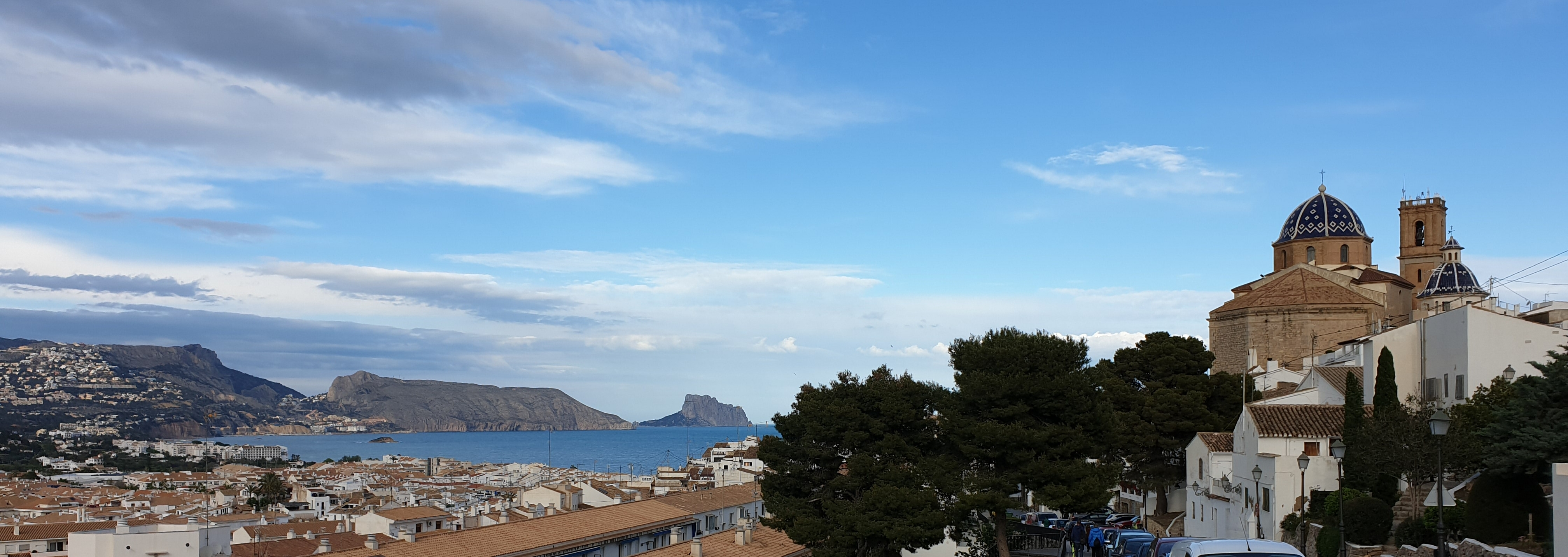 Altea view from the back