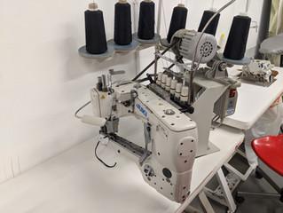 #10 -Juki MF-3620 4 Needle Flatseamer: