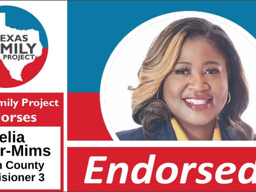 Texas Family Project Endorses Delia Parker-Mims for Denton County Commissioner Precinct 3