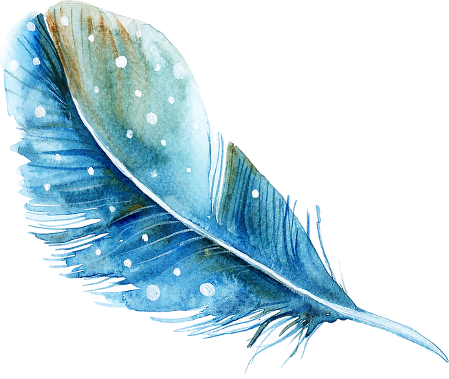 Watercolor Feathers Free PNG Images - Free Digital Image Download