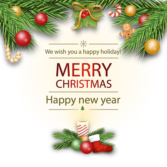 We Wish You a Happy Holiday Free PNG Images - Free Digital Image Download