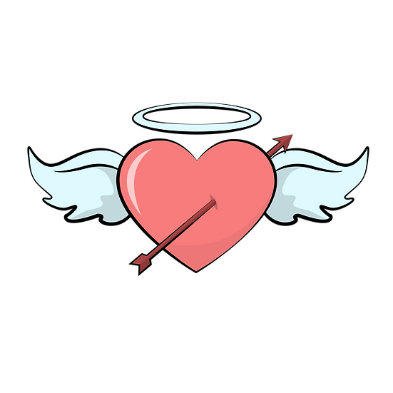 Heart with Arrow - Free PNG Images, Transparent Image Instant Download