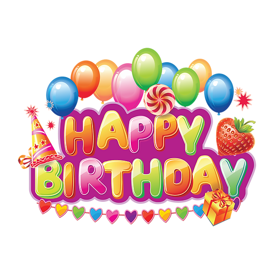 Happy Birthday Miraculous Clipart - PNG Transparent Image - Digital Download