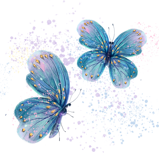Watercolor Butterflies - Free PNG Images, Transparent Image Instant Download