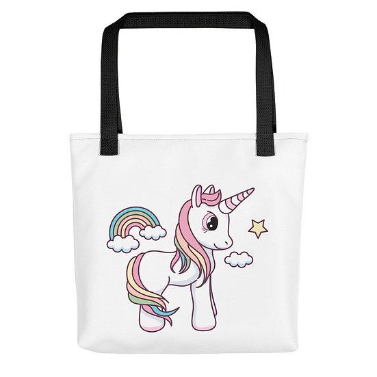 Charming Unicorn Tote bag