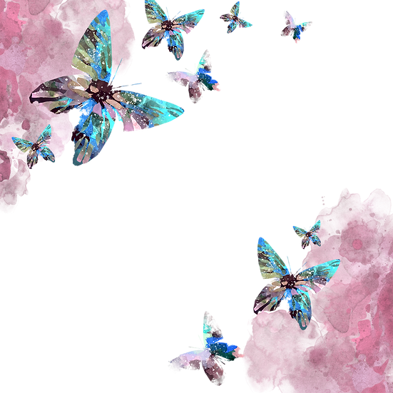 Charming Watercolor Butterflies - Free PNG Transparent Image, Digital Download