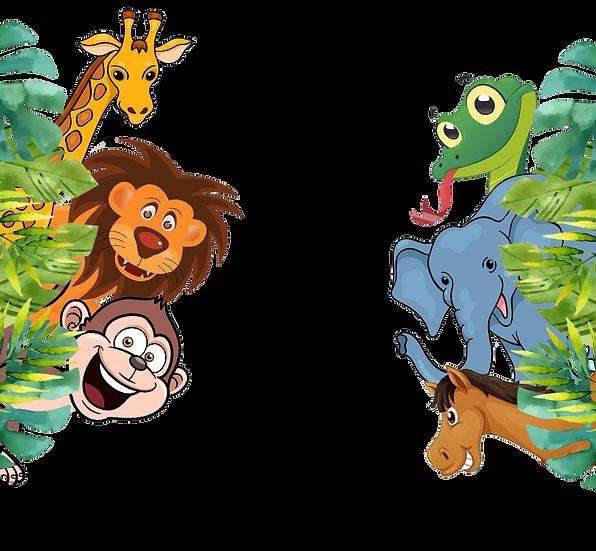 Jungle Animals Free PNG Image - Free Digital Image Download