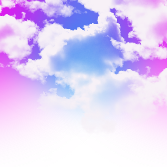 Colorful Sky and Clouds - Free PNG Images, Transparent Image Digital Download