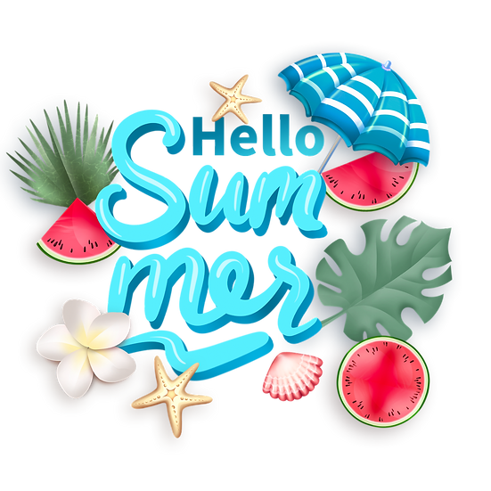Wonderful Summer Clipart - Free PNG Images, Transparent Image Instant Download