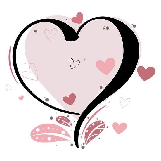 Heart - Amazing Clipart - Valentine's Day Transparent Image - Instant Download