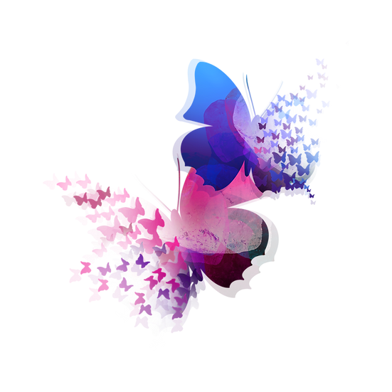 Abstract Butterfly Design - Free PNG Images, Transparent Image Instant Download