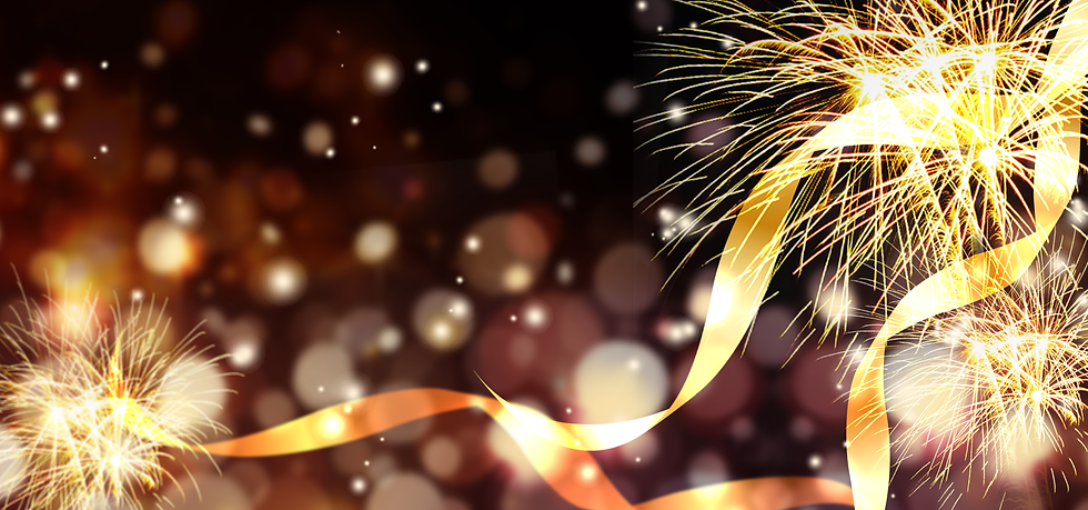 Festive Background with Gold Firework - Free PNG Images, Instant Download