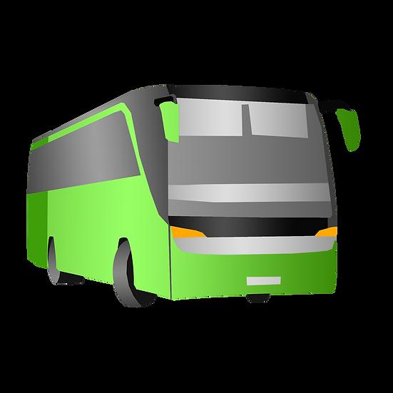 Hand Drawn Bus - Free PNG Car Images, Transparent Image Digital Download