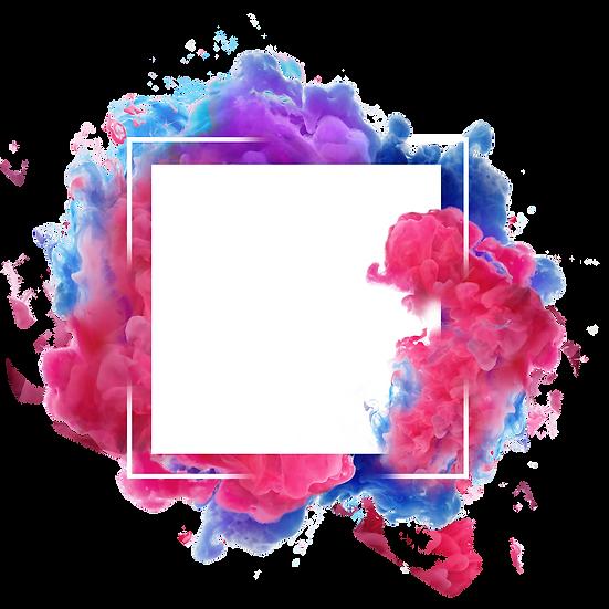 Colorful Smoke Border - Free PNG Images, Transparent Image Digital Download