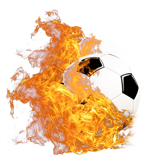 Football Ball on Fire - Free PNG Images, Transparent Image Instant Download