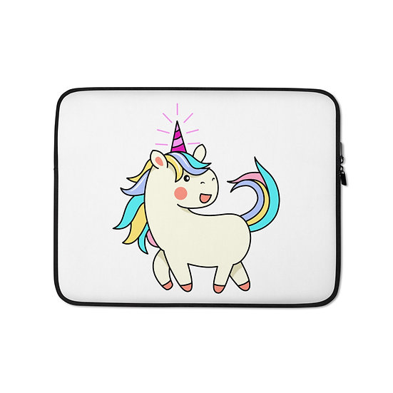 Colorful Unicorn Laptop Sleeve for MacBook, HP, ACER, ASUS, Dell, Lenovo