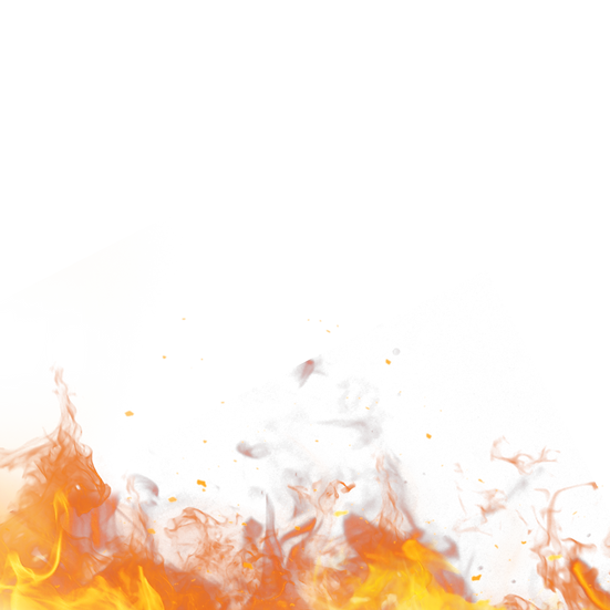 Incredible Fire Flame Border, Free PNG Image, Transparent Image Digital Download