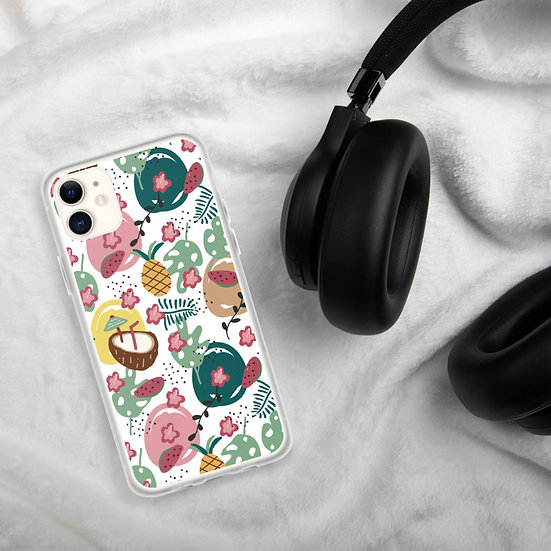 Tropical Cocktail iPhone Cases1