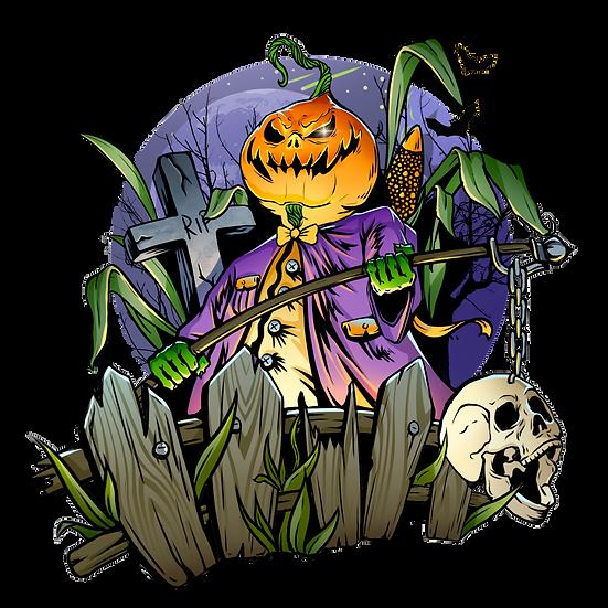Halloween Pumpkin Printables PNG Image  - Editable / Downloadable