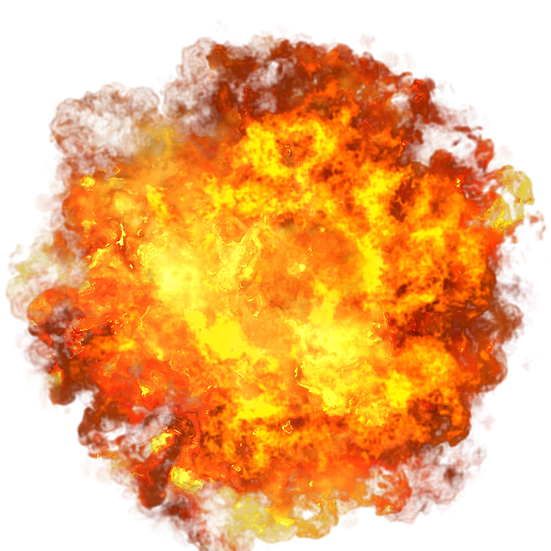 Fire Explosion - Free PNG Images, Transparent Image Instant Download