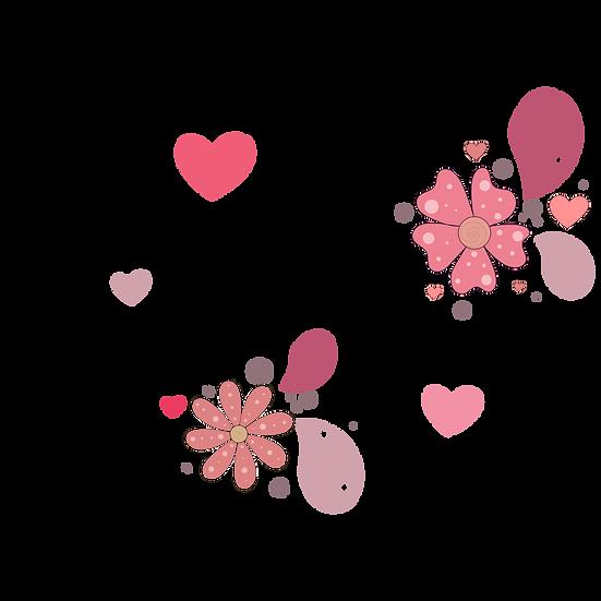 My Love Inscription - Valentine's Day PNG Transparent Image - Instant Download