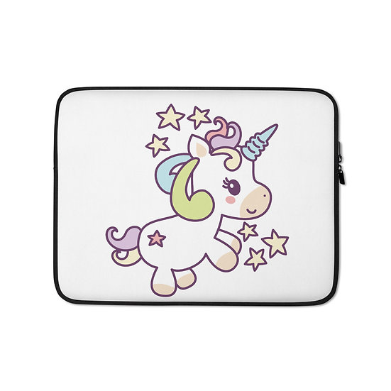 Unicorn among the Stars Laptop Sleeve for MacBook, HP, ACER, ASUS, Dell, Lenovo