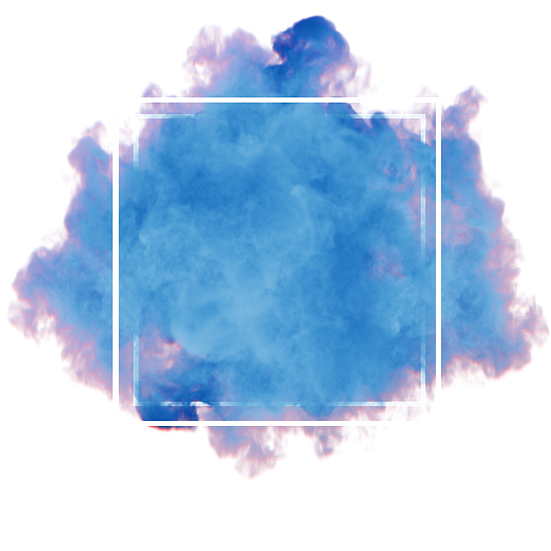 Blue Smoke with Frame - Free PNG Images, Transparent Image Instant Download