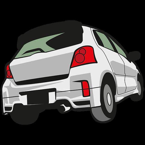 Back Side Of Car - Free PNG Images, Transparent Image Instant Download