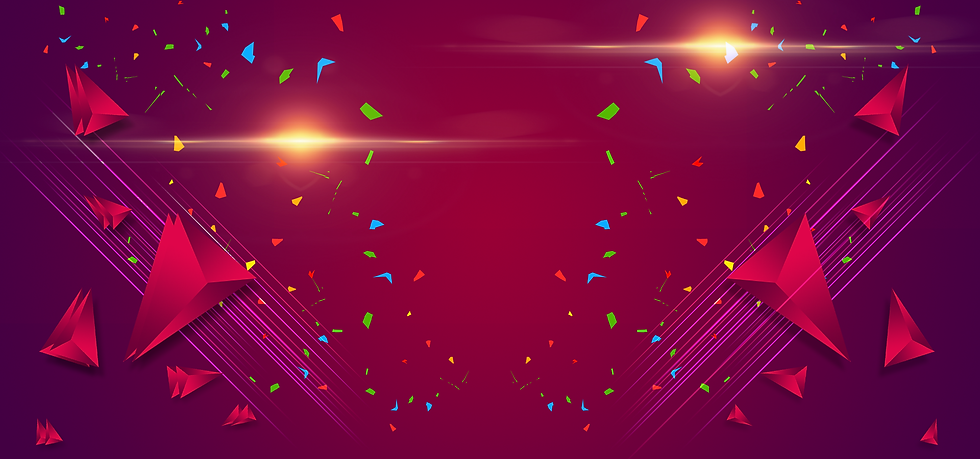 Fantastic Background with Confetti - Free PNG Images, Digital Download