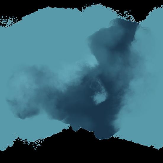 Fantastic Blue Smoke - Free PNG Images, Transparent Image Instant Download