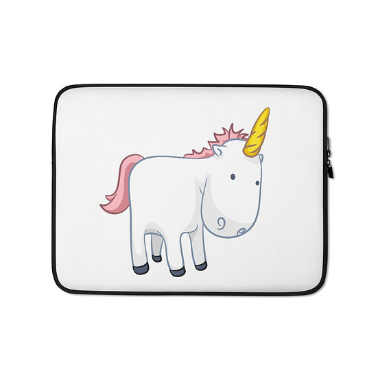 Deep thinking Unicorn Laptop Sleeve for MacBook, HP, ACER, ASUS, Dell, Lenovo